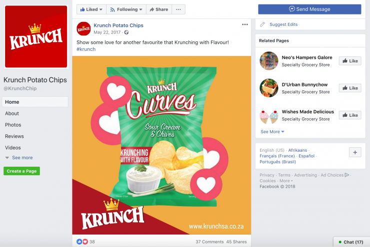 Krunch Potato Chips